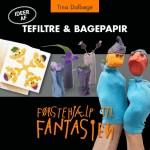 e-bog Tefiltre & bagepapir, DIY idébog for børn