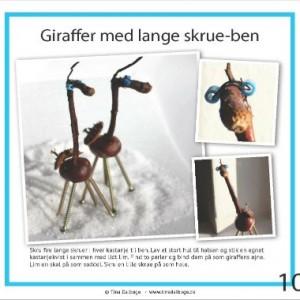 Giraffer fra Tina Dalboges e-bog Kreative kastanjer