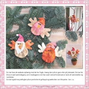 Julefugle fra Tina Dalboges e-bog Hyggeligt julepynt