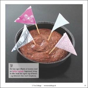 Laekker kage fra Tina Dalboges e-bog Gaver til foedselsdag og fester