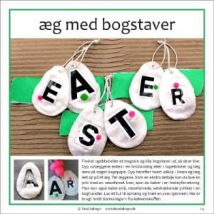 Paaske med bogstaver fra Tina Dalboges e-bog Vattede paaskeaeg