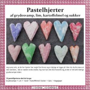Pastelhjerter fra Tina Dalboges e-bog Farverigt julepynt