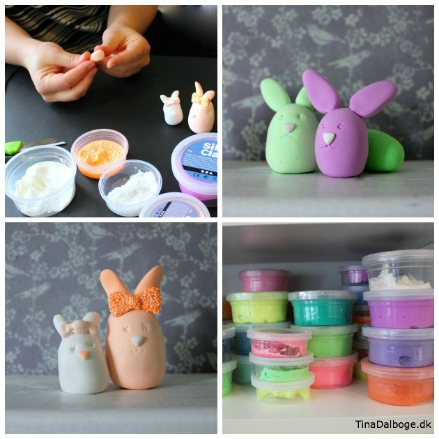 fine-paaskeharer-som-boern-kan-lave-med-silk-clay-og-foam-clay-ler