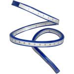 Slange lineal, 50 cm, 1 stk.