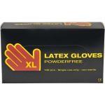 Latex handsker, x-large , 100 stk.