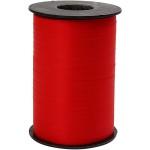 Gavebånd, 10 mm, rød, mat, 250 m