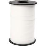 Gavebånd, 10 mm, hvid, mat, 250 m