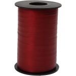 Gavebånd, 10 mm, mørk rød, mat, 250 m