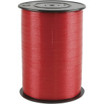 Gavebånd, 10 mm, rød, blank, 250 m
