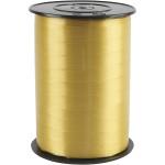 Gavebånd, 10 mm, guld , blank, 250 m