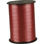 Gavebånd, 10 mm, rubin, blank, 250 m