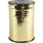 Gavebånd, 10 mm, metal guld, 250 m