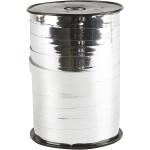 Gavebånd, 10 mm, metal sølv, 250 m