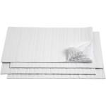Harmonikapapir, 28x17,8 cm, hvid, 8 ark