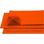 Harmonikapapir, 28x17,8 cm, orange, 8 ark