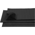 Harmonikapapir, 28x17,8 cm, sort, 8 ark