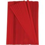 Stjernestrimler, 10 mm, rød, 500 stk.