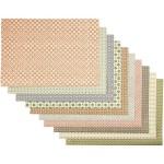 Countrypapir, 50x70 cm, 10 ass. ark