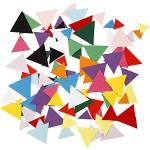 Kartonmosaik, 10+15+20 mm, trekantet, 180 g