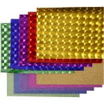 Dekofilm - sortiment, 35 cm, ass. farver, 10x2 m