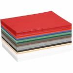 Julekarton, 10,5x15 cm, ass. farver, 120 ass. ark