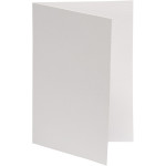 Brevkort, 10,5x15 cm, hvid, 10 stk.