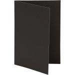 Brevkort, 10,5x15 cm, sort, 10 stk.
