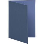 Brevkort, 10,5x15 cm, mørk blå/lys blå, 10 stk.