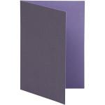 Brevkort, 10,5x15 cm, lilla/mørk lilla, 10 stk.
