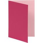 Brevkort, 10,5x15 cm, pink/rosa, 10 stk.