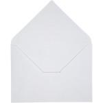 Kuvert, 11,5x16 cm, hvid, 10 stk.