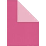 Strukturkarton, 21x30 cm, pink/rosa, 10 ark
