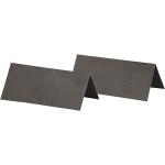 Bordkort, 9x4 cm, sort, 25 stk.