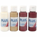 Plus Color hobbymaling, Copenhagen, 4x60 ml