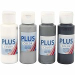 Plus Color hobbymaling, Paris, 4x60 ml