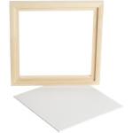 Svæveramme m. malerplade, 20,2x20,2 cm, Plade 17,4x17,4 cm, 1 stk.