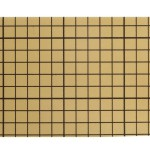Dobbeltklæbende folie, 10x14 cm, 10 ark