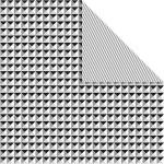 Designpapir, 30,5x30,5 cm, Paris, 5 ark