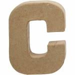 Bogstav, 10 cm, C, 1 stk.