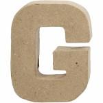 Bogstav, 10 cm, G, 1 stk.