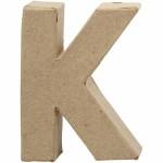 Bogstav, 10 cm, K, 1 stk.