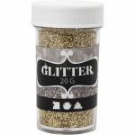 Glitter, 35 mm, guld, 20 g