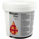 Mosaikfiller, hvid, 1000 ml