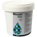 Mosaikfiller, sort, 1000 ml