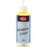 Viva Decor Window Color, gul, 80 ml