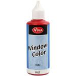 Viva Decor Window Color, rød, 80 ml