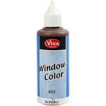 Viva Decor Window Color, chokolade, 80 ml