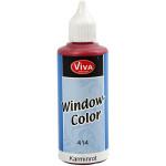 Viva Decor Window Color, karmin rød, 80 ml