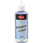Viva Decor Window Color, azure, 80 ml