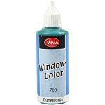 Viva Decor Window Color, mørk grøn, 80 ml